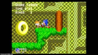 getlinkyoutube.com-Lets Play Sonic 3 and knuckles mushroom hill zone