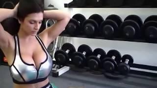 Denise Milani Hot & Hard Exercise.