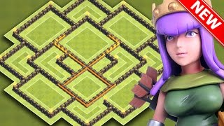 Clash Of Clans | INSANE TH9 HYBRID BASE FOR NEW UPDATE | BEST Town Hall 9 Farming / Trophy Base