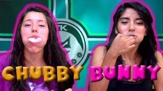 getlinkyoutube.com-Chubby Bunny Challenge | Reto Chubby Bunny