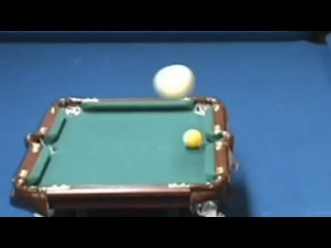 Amazing Pool Trick Shot