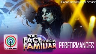 "Your Face Sounds Familiar: Jay R as Alice Cooper - ""Alice Cooper"""