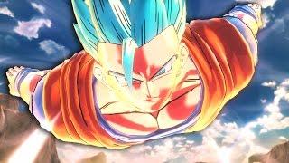 getlinkyoutube.com-GOHAN Super Saiyan BLUE Transformation!? | Xenoverse 2 Ultimate Gameplay [Episode 6]