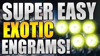 getlinkyoutube.com-Destiny : BEST EXOTIC ENGRAM FARM! MAKE YOUR STRANGE COINS RIGHT BACK!! (EASY ASS EXOTICS!)