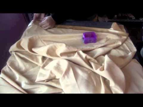 Como coser una cortina sencilla