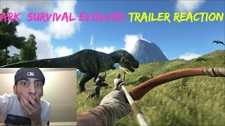 getlinkyoutube.com-Ark Survival Evolved Trailer REACTION!!!!