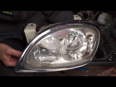 Замена стекла Фар ГАЗ 31105