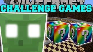 getlinkyoutube.com-Minecraft: KING SLIME CHALLENGE GAMES - Lucky Block Mod - Modded Mini-Game