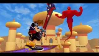 getlinkyoutube.com-Kingdom Hearts II - Jafar Boss