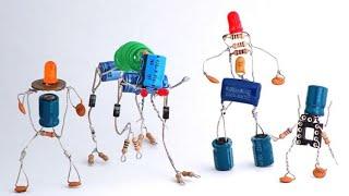 getlinkyoutube.com-cara membuat robot mainan dari komponen elektronika