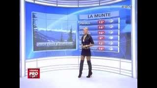 The Weather Girl Wears Thigh Boots
