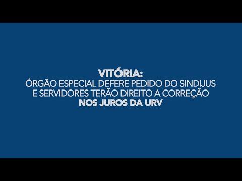 Órgão Especial defere pedido do Sindijus e servidores terão direito a correção nos juros da URV
