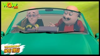 getlinkyoutube.com-Motu Patlu Ki Car - Motu Patlu in Hindi