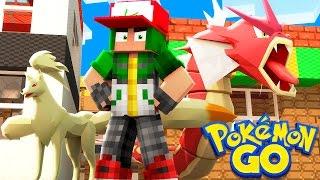 Pokemon Go in Minecraft - Pokemon Vanilla World #3 'TEAM INVICTUS' (PokeFind)