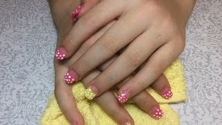 How to Do: Acrylic Nails on my Daughter