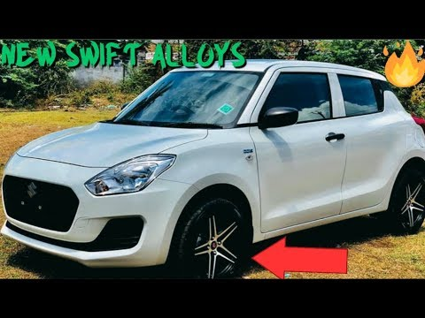 Top 5: Alloy Wheel Modifications for New Swift 2018! All details!