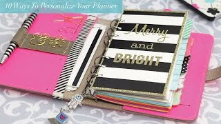 getlinkyoutube.com-10 Ways to Personalize your Planner