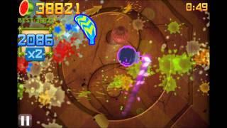 getlinkyoutube.com-Fruit Ninja Over 75 000 in Arcade Mode!!!