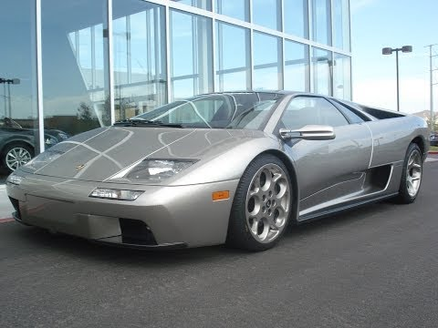 2001 Lamborghini Diablo 6.0 VT Start Up, Exhaust, and In Dep