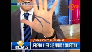 getlinkyoutube.com-Psiquico Arnaldo Loyola Enseña Quiromancia en Bienvenidos