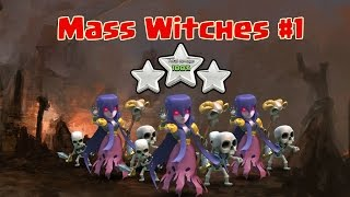 getlinkyoutube.com-Mass Witch #1: All Witch Attack TH9 Strategy To Win 3 Star Clan War