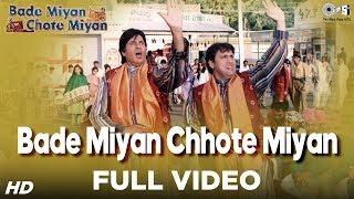 getlinkyoutube.com-Bade Miyan Chhote Miyan - Title Song - Amitabh Bachchan & Govinda - Full Song