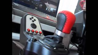 getlinkyoutube.com-Logitech G27 & BK speed cockpit set up