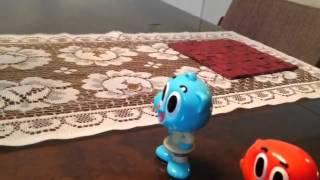 getlinkyoutube.com-Duelo de titãs: Gumball x Apenas um show - bonecos de imã.