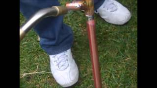 getlinkyoutube.com-How to make J POLE Antenna 2meter