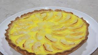 getlinkyoutube.com-ألذ و أسهل طارط ب التفاحLa tarte aux pommes rapide et facile