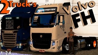 getlinkyoutube.com-VOLVO FH BR + INTERIOR//+RODAS // ETS2 1.24