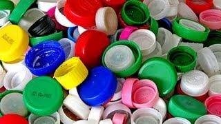 getlinkyoutube.com-Come riutilizzare i TAPPI delle bottiglie -Riciclo creativo
