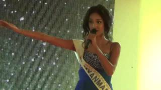 getlinkyoutube.com-Singing performance of the Winner of Miss Asia Pacific World 2014 May Myat Noe from Myanmar