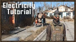 getlinkyoutube.com-Fallout 4 POWER TUTORIAL - How To Power Your Home With Electricity!