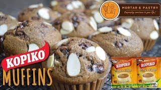 KOPIKO MOCHA MUFFINS USING KOPIKO BROWN 3-1 COFFEE | Ep. 14 | Mortar & Pastry