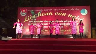 getlinkyoutube.com-Nhảy Như Hoa Mùa Xuân tập thể hot girl Cáo Đỉnh