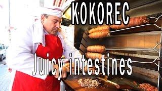 Baby Lamb Intestine Sandwich | Turkish Food | Kokoreç width=