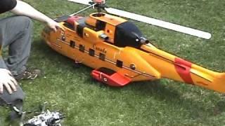 getlinkyoutube.com-Cormorant hélicoptère téléguidé - RC Scale Helicopter Cormorant