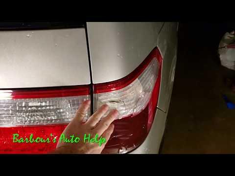 Tail Lamp Lens Replacement 05 Honda Odyssey