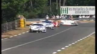 getlinkyoutube.com-1996 - Le Mans - The start of the race - Radio Le Mans