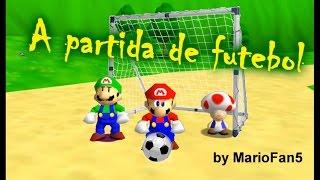 getlinkyoutube.com-Super Mario 64 Bloopers: A partida de futebol