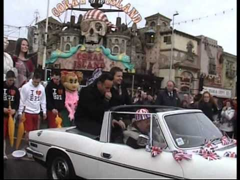 Ant & Dec in Blackpool   BGT Carnival Parade   2012