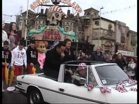 Ant & Dec in Blackpool   BGT Carnival Parade   2012