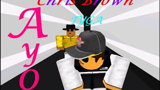 getlinkyoutube.com-Chris Brown, Tyga - Ayo (ROBLOX MUSIC VIDEO)
