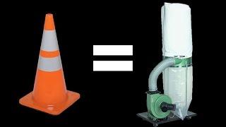 Street cone dust cyclone build-015
