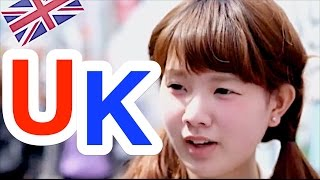 getlinkyoutube.com-Ask Japanese about THE UK | What Japanese think of England and English people / British
