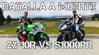 S1000RR VS ZX-10R   BATALLA A MUERTE #FULLGASS
