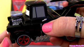 getlinkyoutube.com-Hot Rod Mater Cars 2 Fabrizio Metallic Finish Chase Diecast Disney Pixar Diecast Toys Review