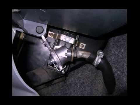 ИЖ Ода (45Т). Печка: Кран отопителя ВАЗ