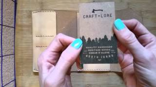getlinkyoutube.com-Craft & Lore Northwestward Field Notes cover unboxing